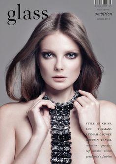 Eniko Mihalik by Bojana Tatarska for Glass Magazine #15 Fall 2013