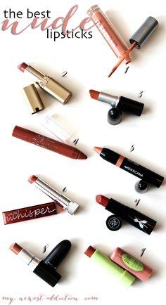 Best Nude Lipsticks - www.mynewestaddiction.com
