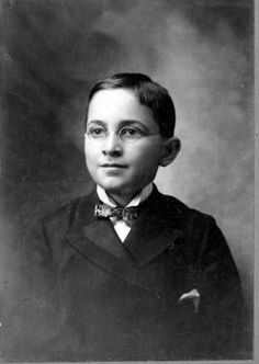 Harry S. Truman at age 13, 1897.