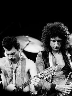 Queen, Freddie Mercury & Brian May