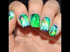 Nail Art Tutorial: Rainforest Nails
