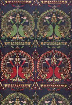 imitosis:  Woven textile 14th century