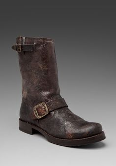 FRYE Veronica Short in Chocolate at Revolve Clothing