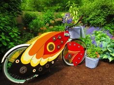 Bikes, Bees and Butterflies project creates urban gardens to delight people and insects