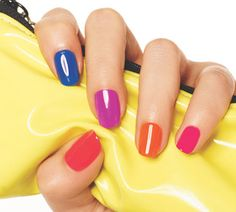 Neon nails are great for #Summer!