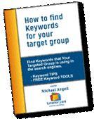 البحث عن الكلمات الرئيسيةيجب البحث عن الكلمات المناسبة التى يستخدمها عملائك للوصول الى الموقع الخاص بك .