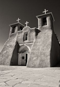 Taos Pueblo, New Mexico --church inspiration for R.C.Gorman and other artists
