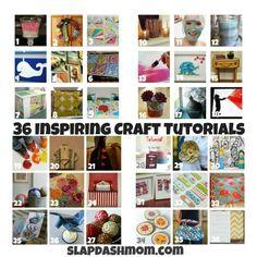 craft tutorials!