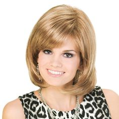Boundless Wig - Be the envy of every girl in town in thick, glossy, healthy looking hair with plenty of volume. Find this style & more @ thewigcompany.com