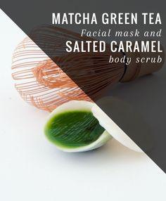... SPA SATURDAY: Matcha Green Tea Facial + Salted Cream Body Scrub - Diy