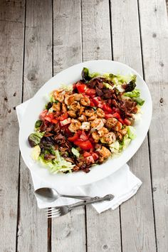 Shrimp BLT Salad