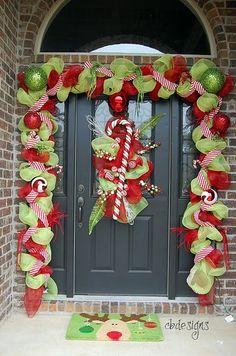 Door Decorations christmas