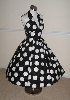 Hellooooo polka dots and poofy!