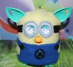 Minion Despicable Me Costume Clothes For Furby or Furby Boom OOAK