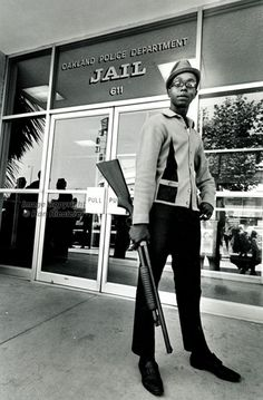 Lil' Bobby Hutton of the Black Panther Party...