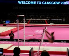 Uneven bars at #Glas