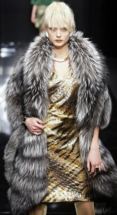 Carlo Tivioli fox fur, fur coat, silver foxes, silverfox