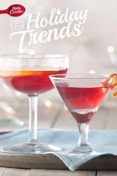 holiday parties, holiday gather, cocktail recipes, cherri jamhattan, food
