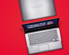 The Vaio E - Practical and stylish with a side of fun extras. #PinItToGiveIt