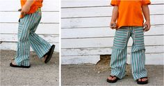 TUTORIAL: KID Pants with POCKETS | MADE. #thevanillabeanblog
