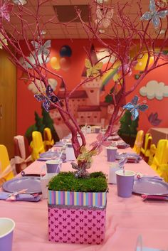 Beautiful butterfly girl birthday party!  See more party ideas at CatchMyParty.com!