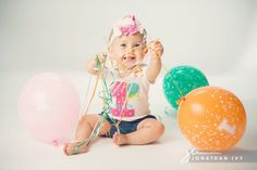 first birthday shoot idea