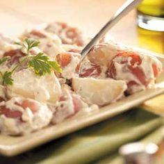 Creamy Red Potatoes Recipe | Taste of Home Recipes