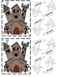 Free Ghostly Fact Families
