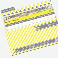 The best way to do a budget and stick to it, with printable Cash Envelopes! via Pretty Finances