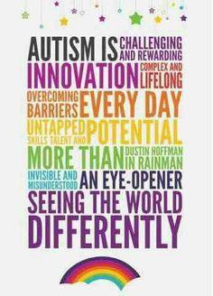 Autism differ, autismawar, autism awareness, autism spectrum, special education, asd, asperg, inspir, quot