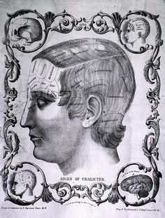 Signs of Character. Drawn and Published by R. Degranza Pease, M.D. (1843)
