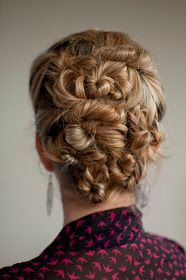The Twist & Pin updo
