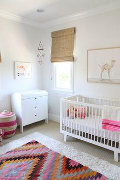 modern bright nursery