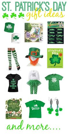 St. Patrick's Day Gift Ideas via pinkheelspinktruck.com