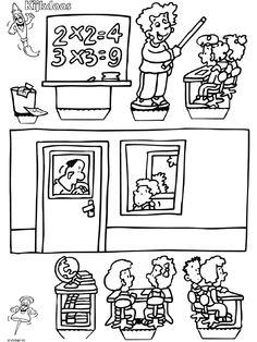 School - Kijkdoos - Knutselpagina.nl - knutselen, knutselen en nog eens knutselen.
