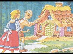 Hansel and Gretel Fairy Tale Bedtime Story video on You Tube