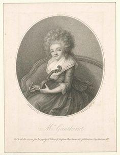 Louise Gautherot, musician born ca. 1763
