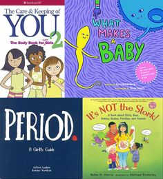 "To help you provide your daughter with the information she needs at every stage of development, check out these two blog posts:  - Talking with Younger Girls about their Bodies (preschoolers/early elementary): http://www.amightygirl.com/blog/?p=2006  - For recommended resources for tweens & teens, check out ""Talking with Tweens and Teens About Their Bodies"" at http://www.amightygirl.com/blog?p=2229"