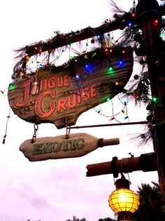 Thankful to experience the very first Jingle Cruise!!!