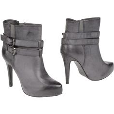FRANCESCO MILANO Ankle boots ($118) ❤ liked on Polyvore