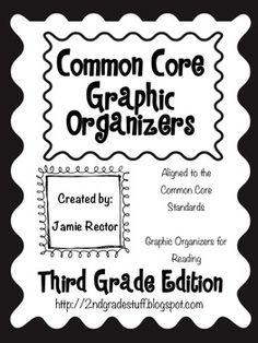 Commom core graphic organizers