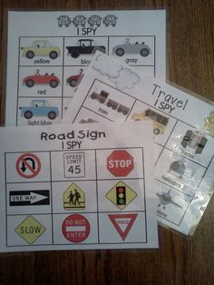 games, kids prints, spies, road trips, card, field trips, travel, the road, roads