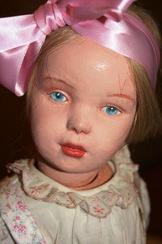 Demure Beauty 19 Early CharacterFace Schoenhut by TheBigRedBox, $399.00