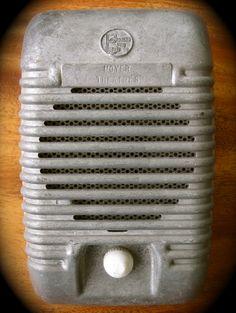 Drive-in movie speaker.  I loved drive-in- movies.
