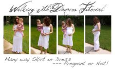 Infinity skirt and dress - maternity or not