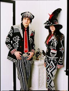 button people - the white stripes - jack & meg
