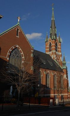 St. Marie church taken February 19th 2012 by Steven Martin in Manchester, NH