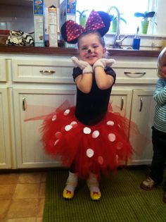 DIY mini mouse Halloween costume A few of my Halloween costumes I have made for my kids :)