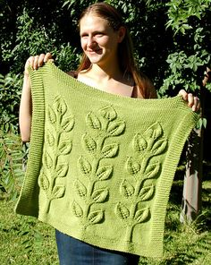Sprout Blanket $5.00 for pattern