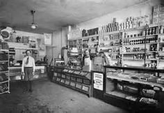 Typical 1924 Grocery
